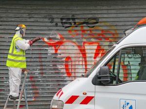 Jak zlikvidovat graffiti