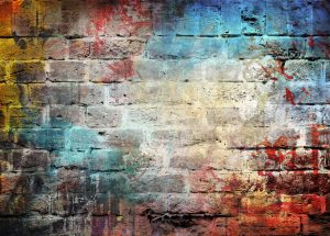Fasáda bez antigraffitové ochany