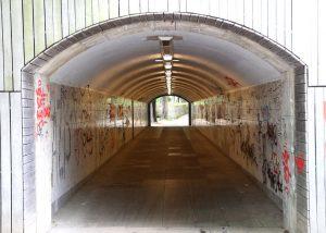 Graffiti tunel