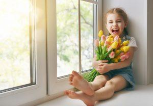 Mytí oken a francouzkých oken