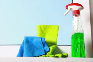mytí výloh