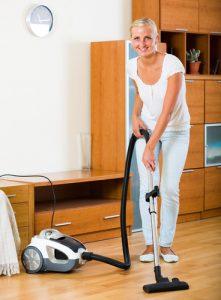 hloubkové vyčištění podlahy