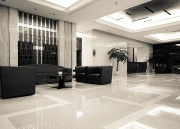 betonové podlahy čištění