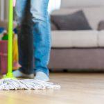 rady jak vyčistit podlahu